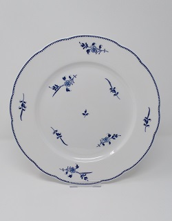 Assiette plate feston brindille 27 cm 35 euros