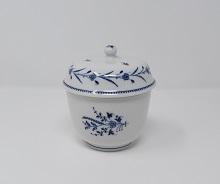 Sucrier Chantilly décor brindille et guirlandde de Calonne 50 euros