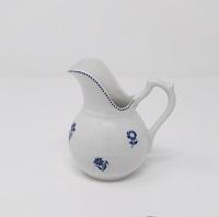 Petit pot à lait boule semis de fleurette 30 euros