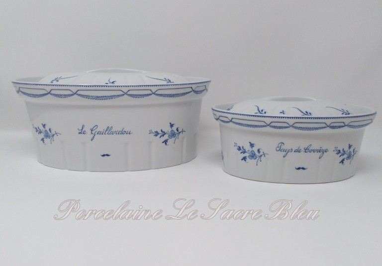 Terrines ovales 2 tailles